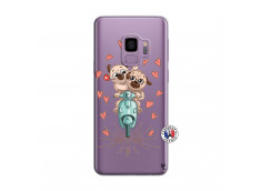 Coque Samsung Galaxy S9 Puppies Love
