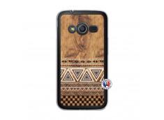 Coque Samsung Galaxy Trend 2 Lite Aztec Deco Translu