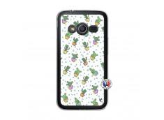 Coque Samsung Galaxy Trend 2 Lite Le Monde Entier est un Cactus Translu