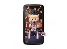 Coque Samsung Galaxy Trend 2 Lite Cat Nasa Translu