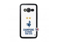 Coque Samsung Galaxy Trend 2 Lite Champion Du Monde Translu