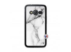 Coque Samsung Galaxy Trend 2 Lite White Marble Translu