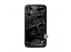 Coque Samsung Galaxy Trend 2 Lite Black Marble Translu