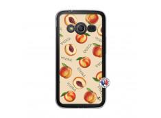 Coque Samsung Galaxy Trend 2 Lite Sorbet Pêche Translu