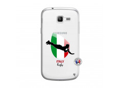 Coque Samsung Galaxy Trend Lite Coupe du Monde Rugby-Italy