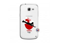 Coque Samsung Galaxy Trend Lite Coupe du Monde Rugby-Tonga