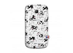 Coque Samsung Galaxy Trend Lite Cow Pattern