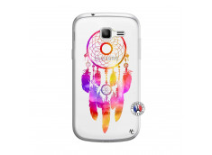 Coque Samsung Galaxy Trend Lite Dreamcatcher Rainbow Feathers