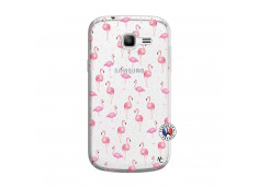 Coque Samsung Galaxy Trend Lite Flamingo