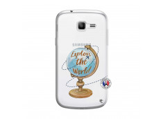 Coque Samsung Galaxy Trend Lite Globe Trotter