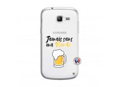 Coque Samsung Galaxy Trend Lite Jamais Sans Ma Blonde
