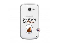 Coque Samsung Galaxy Trend Lite Jamais Sans Ma Brune