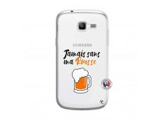 Coque Samsung Galaxy Trend Lite Jamais Sans Ma Rousse
