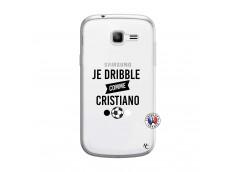Coque Samsung Galaxy Trend Lite Je Dribble Comme Cristiano