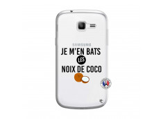 Coque Samsung Galaxy Trend Lite Je m'en bats Les Noix De Coco