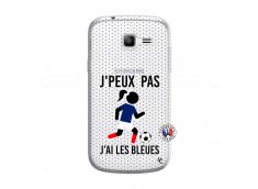 Coque Samsung Galaxy Trend Lite Je Peux Pas J Ai Les Bleues Maillot