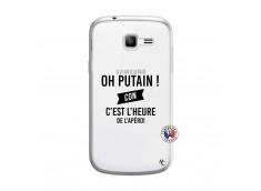 Coque Samsung Galaxy Trend Lite Oh Putain C Est L Heure De L Apero