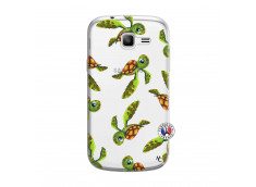 Coque Samsung Galaxy Trend Lite Tortue Géniale