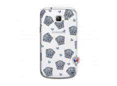Coque Samsung Galaxy Trend Lite Petits Elephants