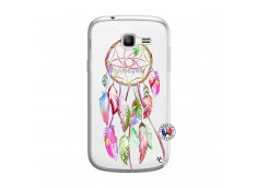Coque Samsung Galaxy Trend Lite Pink Painted Dreamcatcher