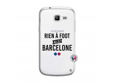 Coque Samsung Galaxy Trend Lite Rien A Foot Allez Barcelone