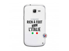 Coque Samsung Galaxy Trend Lite Rien A Foot Allez L'Italie