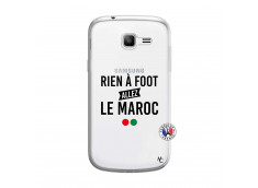 Coque Samsung Galaxy Trend Lite Rien A Foot Allez Le Maroc