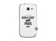 Coque Samsung Galaxy Trend Lite Rien A Foot Allez Paris