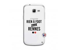 Coque Samsung Galaxy Trend Lite Rien A Foot Allez Rennes