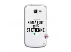 Coque Samsung Galaxy Trend Lite Rien A Foot Allez St Etienne