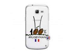 Coque Samsung Galaxy Trend Lite 100 % Rugbyman Entre les Poteaux