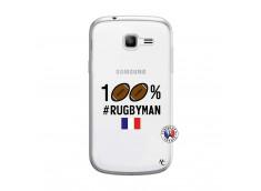 Coque Samsung Galaxy Trend Lite 100% Rugbyman