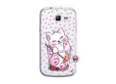Coque Samsung Galaxy Trend Lite Smoothie Cat