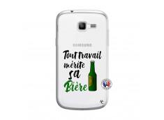 Coque Samsung Galaxy Trend Lite Tout Travail Merite Sa Biere