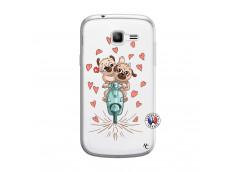 Coque Samsung Galaxy Trend Lite Puppies Love