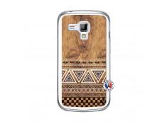 Coque Samsung Galaxy Trend Aztec Deco Translu