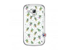 Coque Samsung Galaxy Trend Le Monde Entier est un Cactus Translu