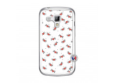 Coque Samsung Galaxy Trend Cartoon Heart Translu