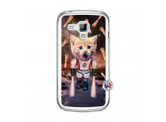 Coque Samsung Galaxy Trend Cat Nasa Translu