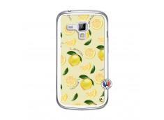 Coque Samsung Galaxy Trend Sorbet Citron Translu