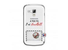 Coque Samsung Galaxy Trend Je peux pas j'ai Handball