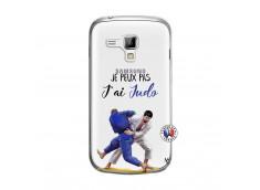 Coque Samsung Galaxy Trend Je peux pas j'ai Judo