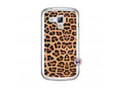 Coque Samsung Galaxy Trend Leopard Style Translu