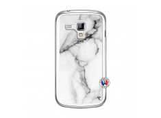 Coque Samsung Galaxy Trend White Marble Translu