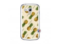 Coque Samsung Galaxy Trend Sorbet Ananas Translu