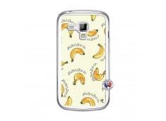 Coque Samsung Galaxy Trend Sorbet Banana Split Translu