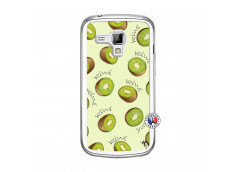 Coque Samsung Galaxy Trend Sorbet Kiwi Translu