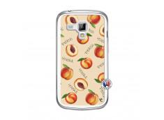 Coque Samsung Galaxy Trend Sorbet Pêche Translu