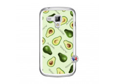 Coque Samsung Galaxy Trend Sorbet Avocat Translu