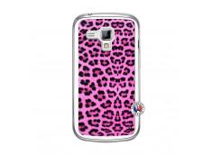 Coque Samsung Galaxy Trend Pink Leopard Translu